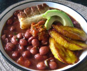 receta de frijoles colombianos