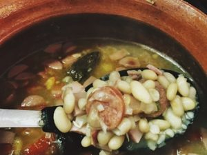 receta de frijol peruano